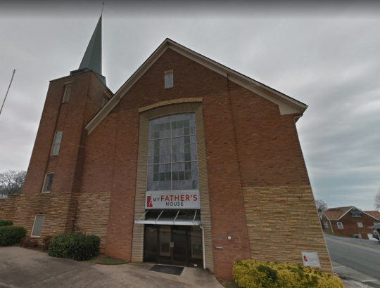 The church David Richards worked at