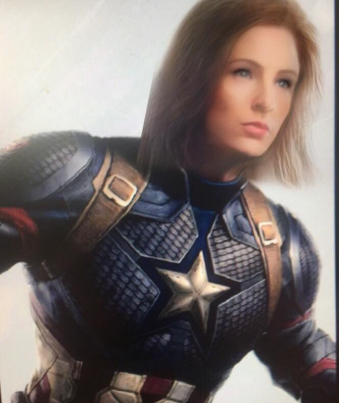 Captain America with new snapchat filter