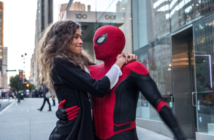 spider-man and michelle (zendaya)