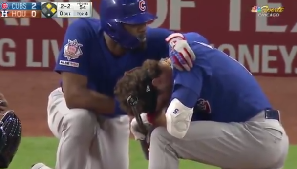 Chicago Cubs Batsman Cries Uncontrollably After His Ball Hits 4-Year-Old