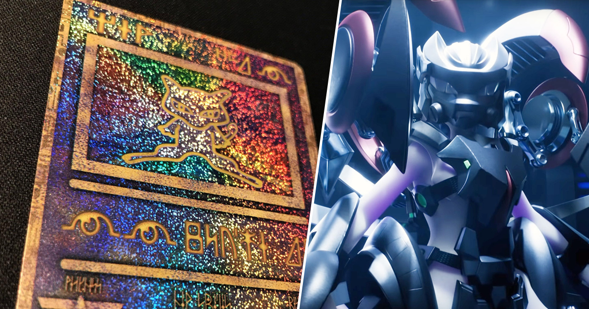 Mewtwo Strikes Back Evolution Screenings Will Offer Ancient Mew Card Reprints