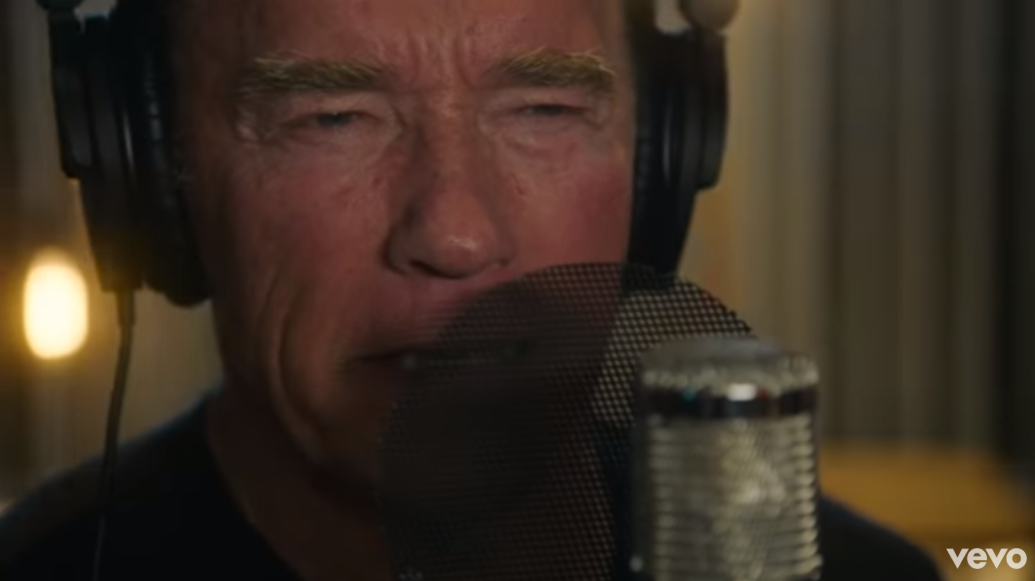 Arnold Schwarzenegger Just Dropped A Rap Track And It's Bizarre As F*ck