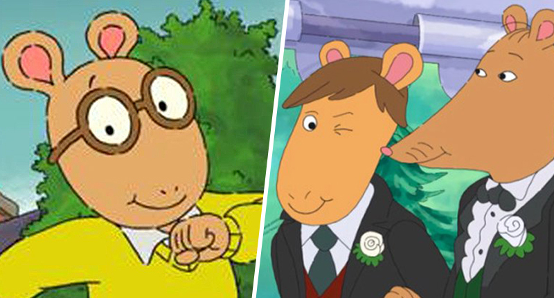 arthur's teacher mr ratburn wedding