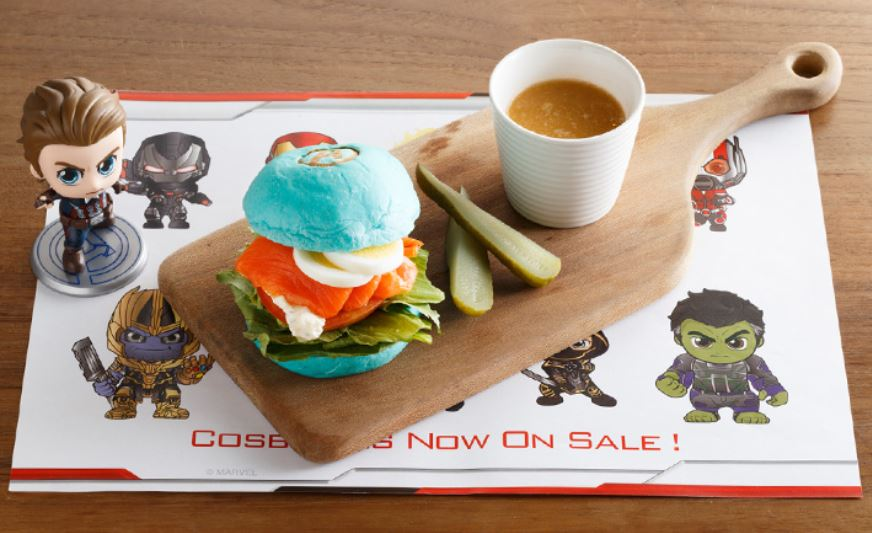 Avengers: Endgame cafe has opened in Japan.