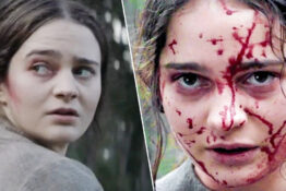 Clare, played by Aisling Franciosi, in The Nightingale