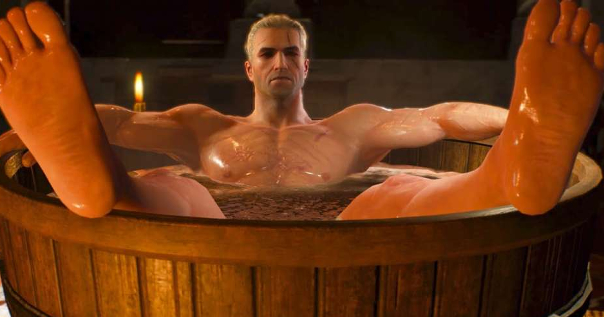 Bathtub Geralt Can Finally Be Yours As Witcher Statue Goes On Sale