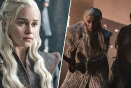 Emilia Clarke says episode five is bigger than episode three.