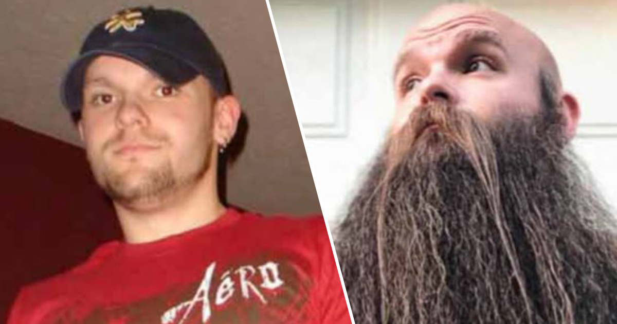 Man spends 5 years growing beard
