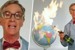 Bill Nye Tells Everyone To 'Grow The F*ck Up' And Fight Climate Change