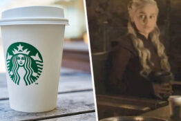 starbucks got free advertising from game of thrones even though it wasn't their cup