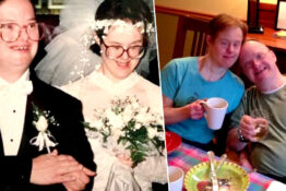Husband in longest ever Down Syndrome marriage dies.