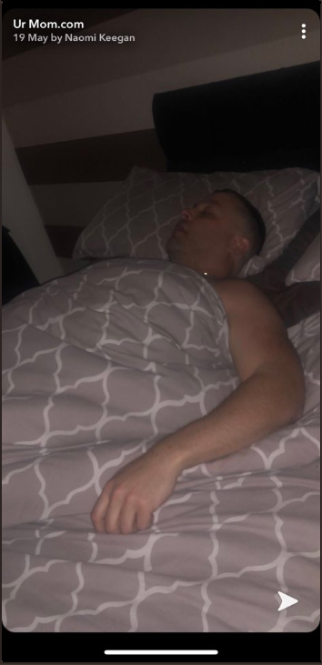 Dad Fakes Pics In Bed To Hide Night Out From Wife, Goes Viral