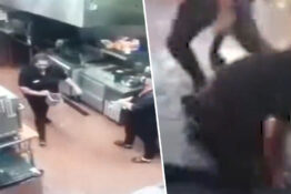 Manager throws hot oil at teen employee