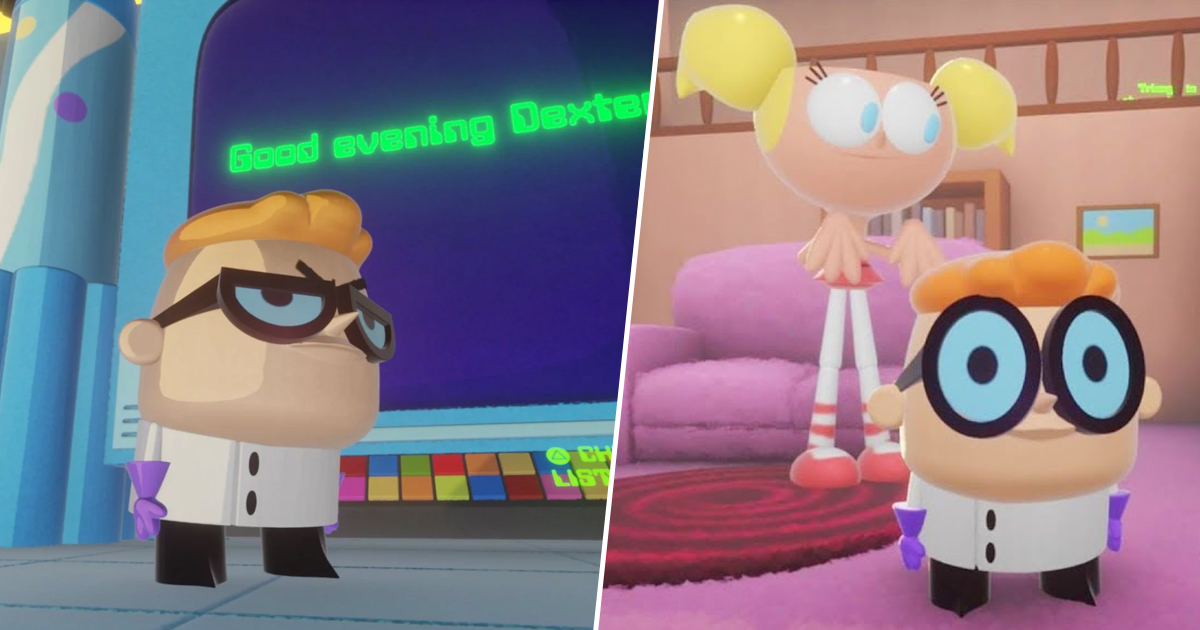 Someone's Making A Dexter's Lab Game, And It Looks Ace