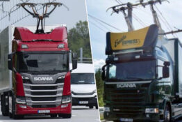 germany introduces first electric highway for trucks