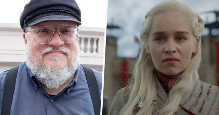 George RR Martin is a 'little sad' about Game of Thrones adaption.