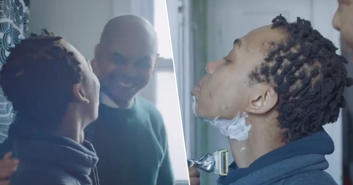 Gillette Praised For Beautiful Advert Showing Transgender Man's First Shave