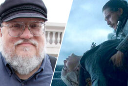 george rr martin/jon snow and daenerys