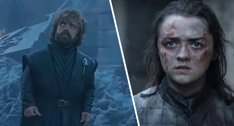 tyrion and arya in game of thrones