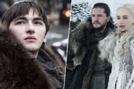 bran stark, jon snow, daenerys targaryen in game of thrones