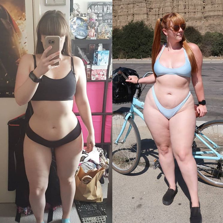 Woman Who Was Spat On By Fat Shamers Shares Her Weight Gain Transformation