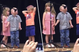 Boy Hijacks Twinkle Twinkle Little Star Performance To Sing Imperial March