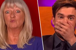 Jack Whitehall left embarrassed by audience member.