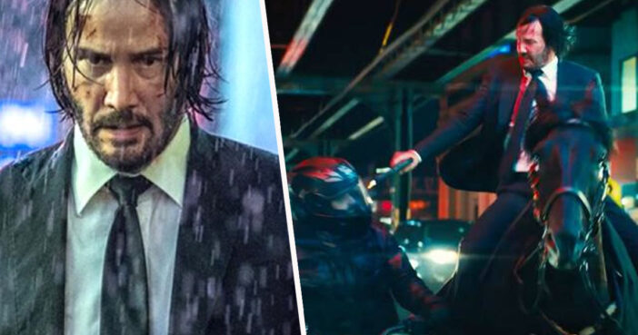 John Wick 3 as a near perfect score on Rotten Tomatoes.