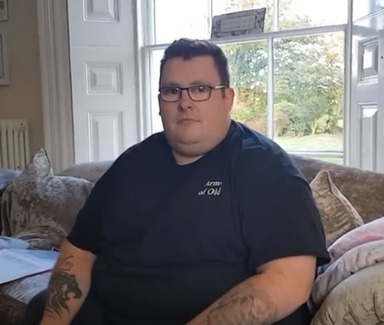 Man loses seven stone after appearing on Jeremy Kyle.