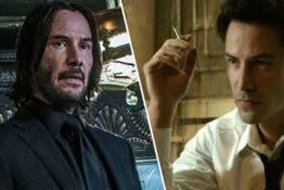 keanu reeves in constantine and john wick 3