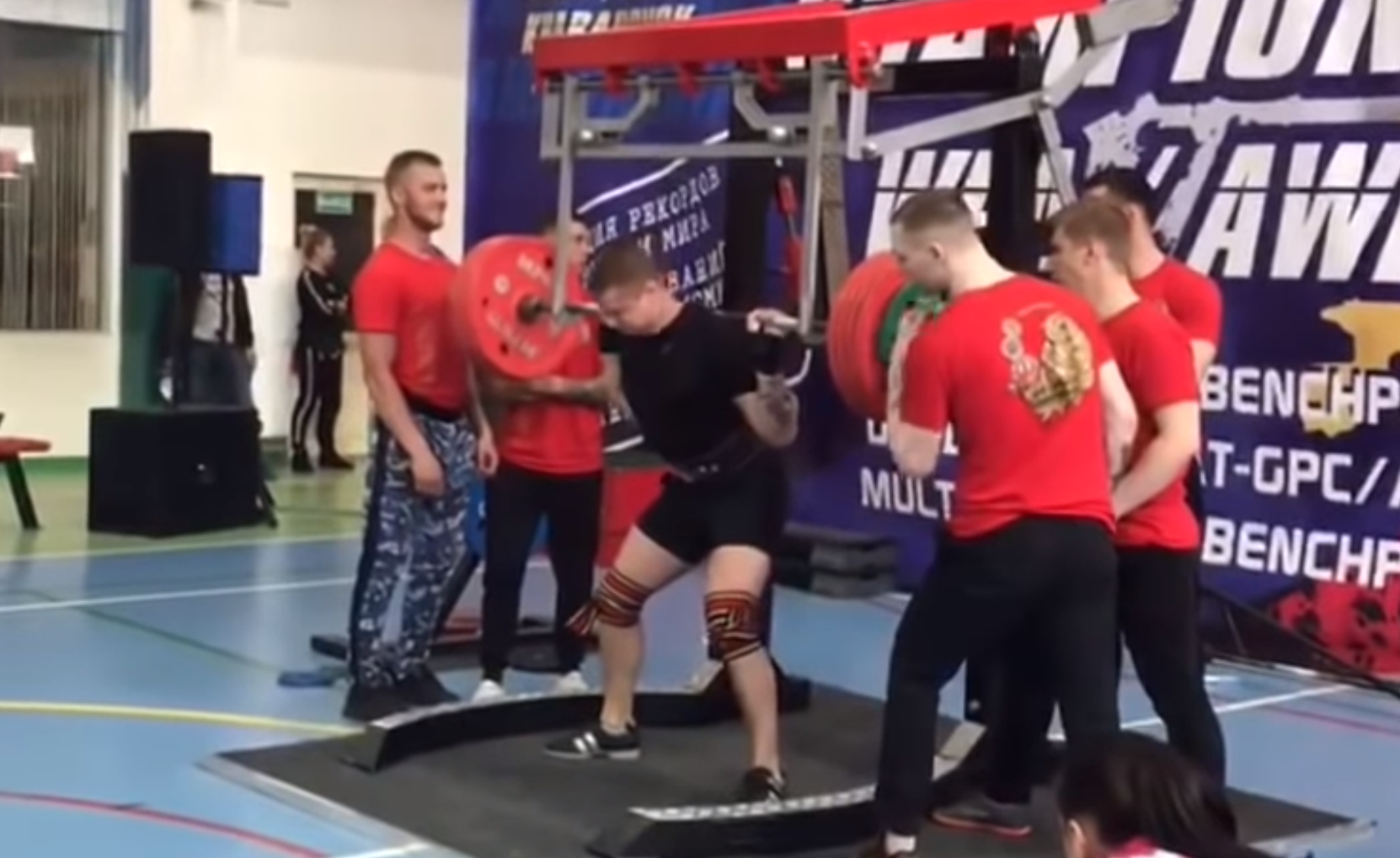 481489b2ad Powerlifter Breaks Leg In Three Places After Collapsing Under 250kg Weight