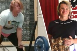 powerlifter stripped of titles because she was 'still a man'