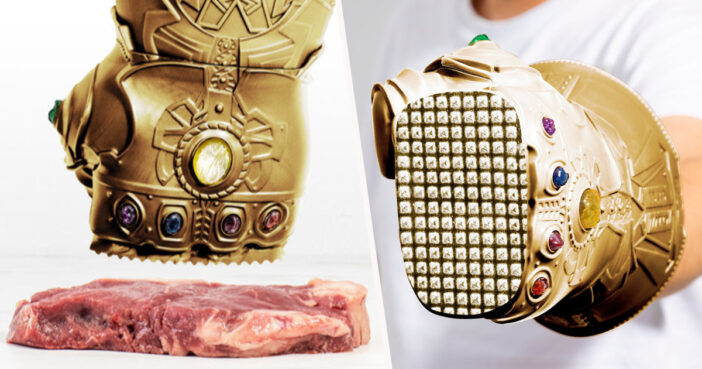 Infinity Gauntlet Meat Tenderiser is here.