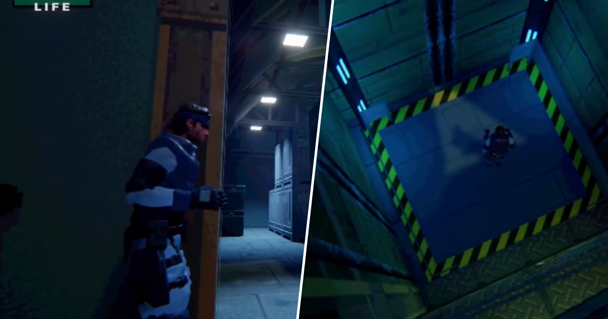 Metal Gear Solid Is Getting A Gorgeous Fan Remake
