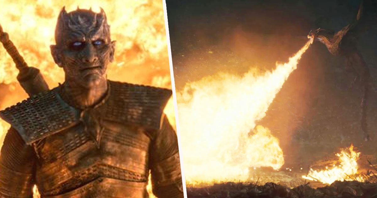 Why The Night King Didn't Die When Smoked By Dragon Fire