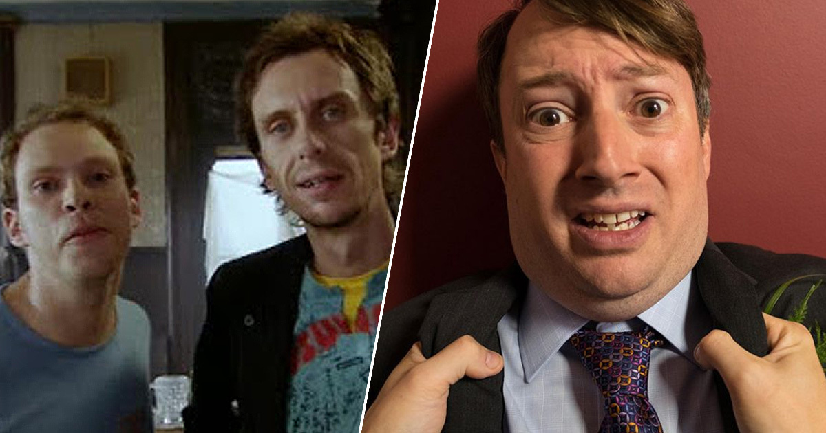 jez, super hans and mark in peep show