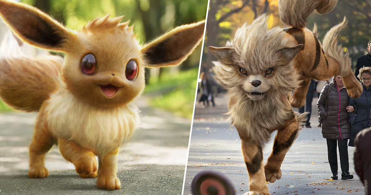 Detective Pikachu's Early Pokemon Designs Are So Cute It Hurts