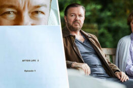 ricky gervais finishes second season of After Life