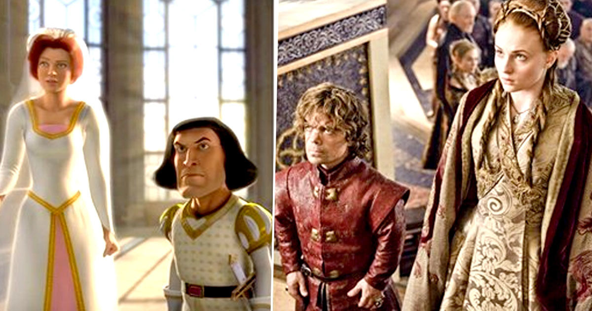 scene from shrek/game of thrones
