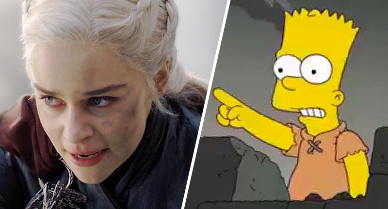 The Simpsons Predicted Game Of Thrones Battle Of King's Landing In 2017