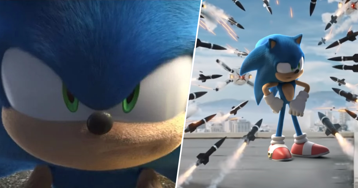Sonic Movie Trailer Remade With Cartoon Sonic Makes A Huge Difference Unilad