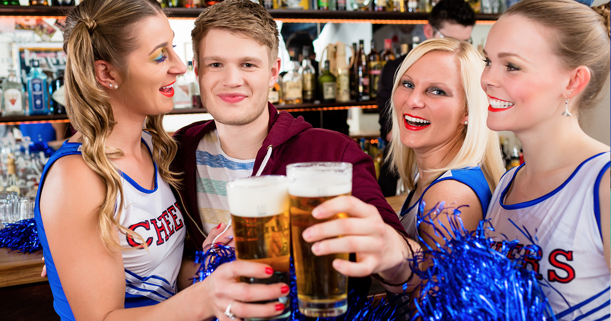 Sports Fans Will Spend Over A Year And A Half Of Their Lives Watching Sport At The Pub