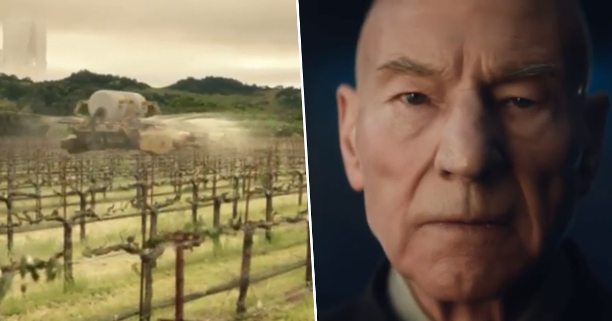 The First Teaser Trailer For Patrick Stewart's 'Star Trek: Picard' Has Dropped