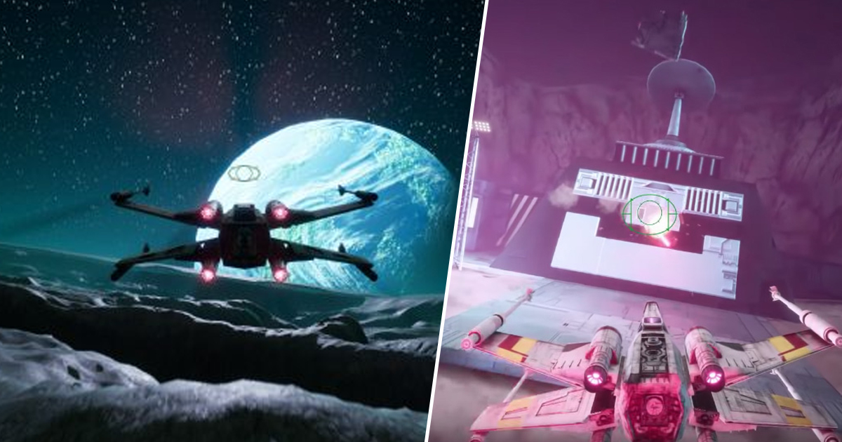 Star Wars: Rogue Squadron In Unreal Engine 4 Is The Remake You're Looking For