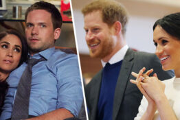 Patrick J Adams congratulations Meghan Markle and Prince Harry over new baby