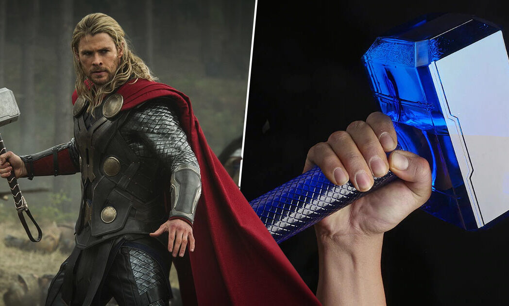 You Can Now Buy A Thor's Hammer Water Bottle