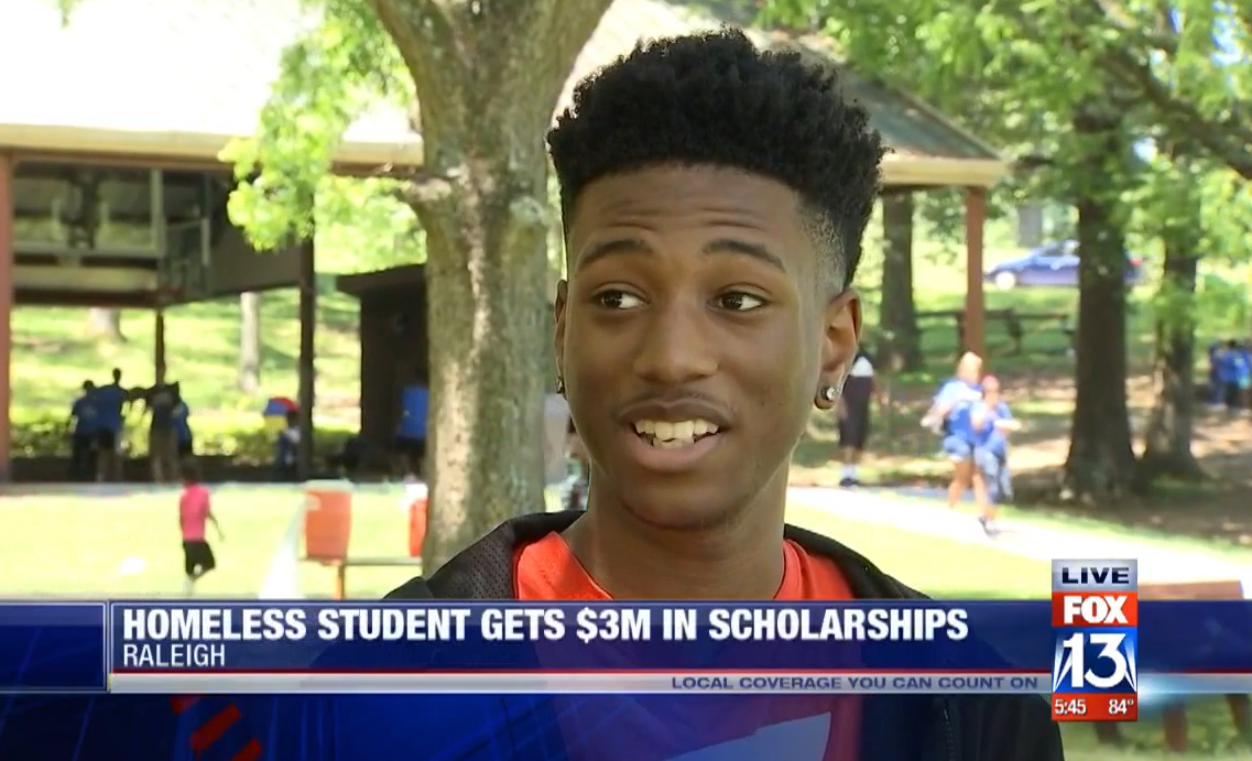 tupac mosley, who was offered $3 million in scholarships