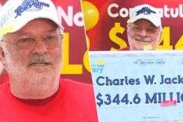 Man wins lottery after playing fortune cookie numbers