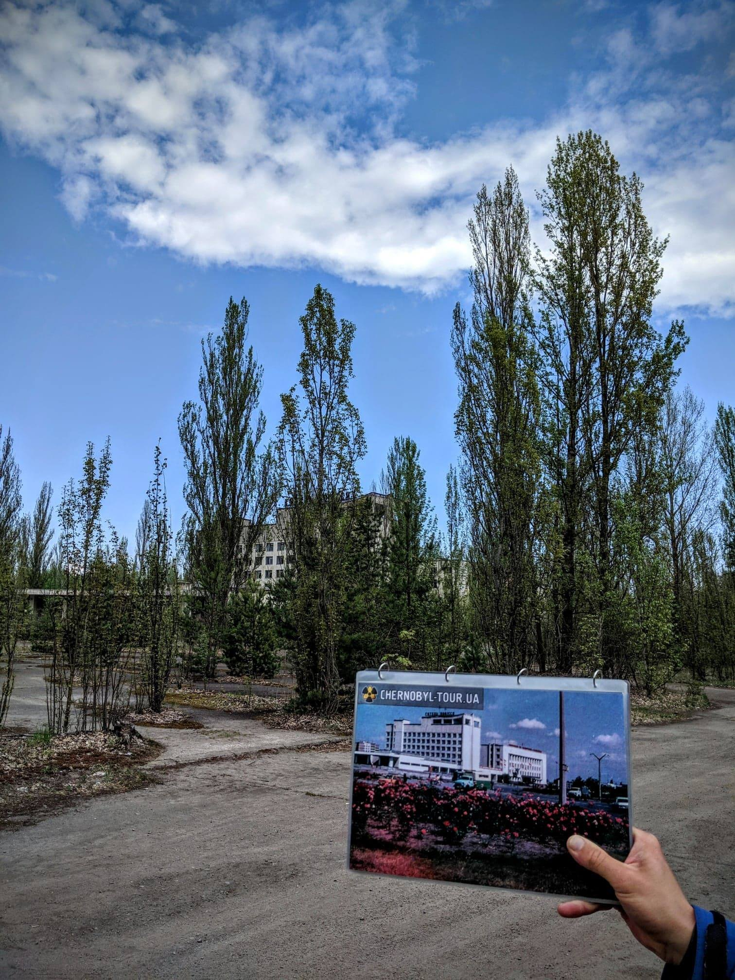 before and after Recent Chernobyl Photos Show The Site Frozen In Time UNILAD Jack Skelton