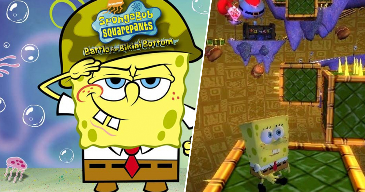 SpongeBob SquarePants: Battle For Bikini Bottom Remaster Announced